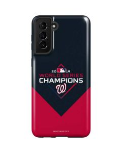 Washington Nationals 2019 World Series Champions Galaxy S21 Plus 5G Case