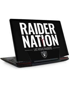 Las Vegas Raiders Team Motto Legion Y720 Skin