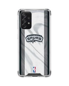 San Antonio Spurs Galaxy A72 5G Clear Case