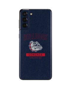 Gonzaga Bulldogs Established 1887 Galaxy S21 Plus 5G Skin