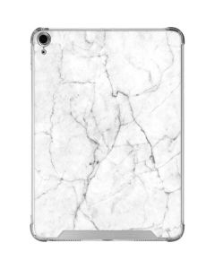 White Marble iPad Air 10.9in (2020) Clear Case
