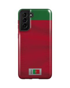Portugal Soccer Flag Galaxy S21 Plus 5G Case