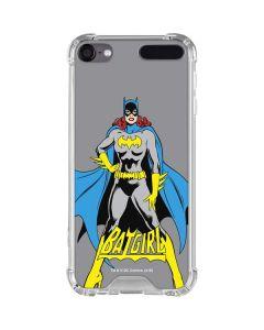 Batgirl Portrait iPod Touch (5th-6th-7th Gen) Clear Case