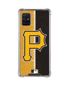 Pittsburgh Pirates Split Galaxy A51 5G Clear Case