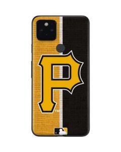 Pittsburgh Pirates Split Google Pixel 5 Skin