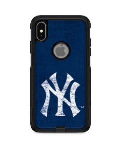 New York Yankees - Solid Distressed Otterbox Commuter iPhone Skin