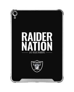 Las Vegas Raiders Team Motto iPad Air 10.9in (2020) Clear Case