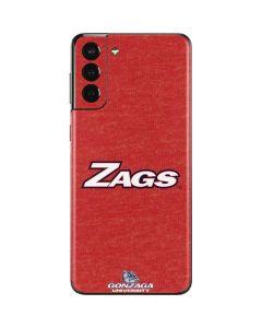 Gonzaga Zags Galaxy S21 Plus 5G Skin