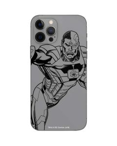 Cyborg Comic Pop iPhone 12 Pro Skin