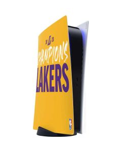2020 Champions Lakers PS5 Digital Edition Console Skin