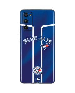 Toronto Blue Jays Alternate Jersey Galaxy S20 Fan Edition Skin