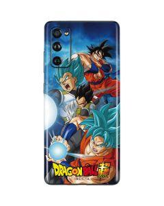 Goku Vegeta Super Ball Galaxy S20 Fan Edition Skin