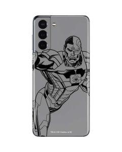 Cyborg Comic Pop Galaxy S21 5G Skin