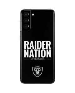 Las Vegas Raiders Team Motto Galaxy S21 Plus 5G Skin