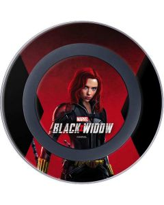Black Widow Animated Wireless Charger Skin