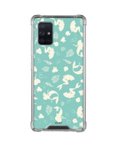 Ariel Under the Sea Print Galaxy A71 5G Clear Case