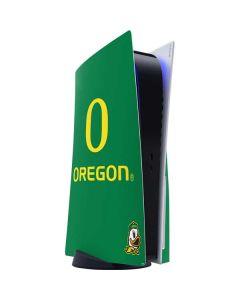 University of Oregon PS5 Console Skin
