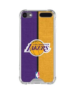Los Angeles Lakers Canvas iPod Touch (5th-6th-7th Gen) Clear Case