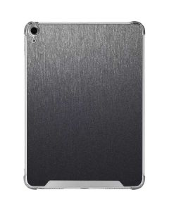 Brushed Steel Texture iPad Air 10.9in (2020) Clear Case