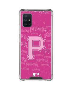 Pittsburgh Pirates - Pink Cap Logo Blast Galaxy A51 5G Clear Case