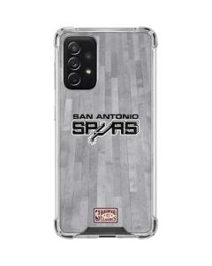 San Antonio Spurs Hardwood Classics Galaxy A72 5G Clear Case