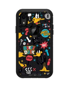 Daffy Duck Patches Otterbox Defender iPhone Skin