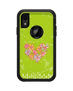 Daisy Heart Otterbox Defender iPhone Skin