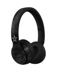 Dallas Cowboys Black & White Beats Solo Pro Skin