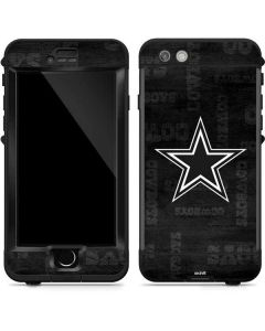 Dallas Cowboys Black & White LifeProof Nuud iPhone Skin