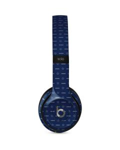 Dallas Cowboys Blitz Series Beats Solo 2 Wired Skin
