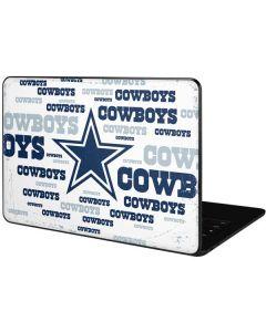 Dallas Cowboys Blue Blast Google Pixelbook Go Skin