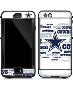 Dallas Cowboys Blue Blast LifeProof Nuud iPhone Skin