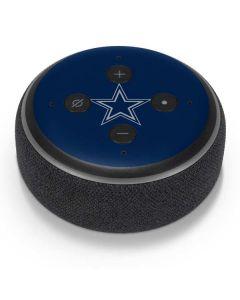 Dallas Cowboys Blue Performance Series Amazon Echo Dot Skin