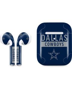 Dallas Cowboys Blue Performance Series Apple AirPods 2 Skin