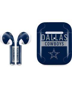 Dallas Cowboys Blue Performance Series Apple AirPods 2 Skin