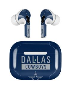 Dallas Cowboys Blue Performance Series Apple AirPods Pro Skin
