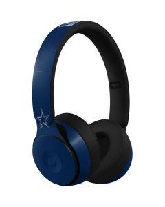 Dallas Cowboys Blue Performance Series Beats Solo Pro Skin
