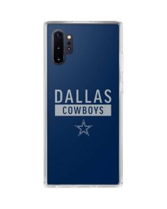 Dallas Cowboys Blue Performance Series Galaxy Note 10 Plus Clear Case