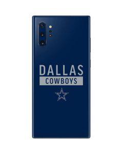 Dallas Cowboys Blue Performance Series Galaxy Note 10 Plus Skin