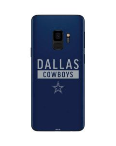 Dallas Cowboys Blue Performance Series Galaxy S9 Skin