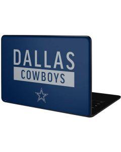 Dallas Cowboys Blue Performance Series Google Pixelbook Go Skin