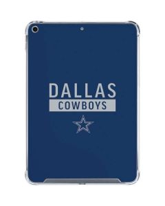 Dallas Cowboys Blue Performance Series iPad 10.2in (2019-20) Clear Case