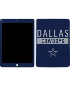 Dallas Cowboys Blue Performance Series Apple iPad Skin