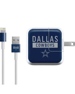 Dallas Cowboys Blue Performance Series iPad Charger (10W USB) Skin
