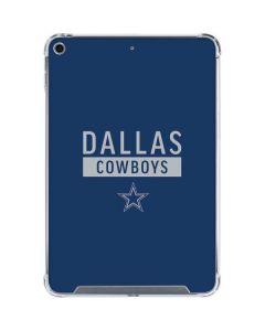 Dallas Cowboys Blue Performance Series iPad Mini 5 (2019) Clear Case