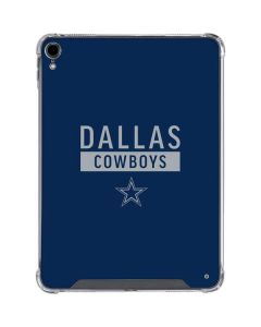 Dallas Cowboys Blue Performance Series iPad Pro 11in (2018-19) Clear Case