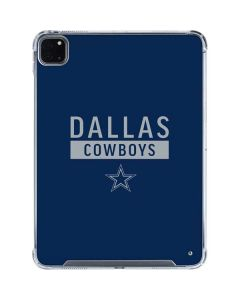 Dallas Cowboys Blue Performance Series iPad Pro 11in (2020) Clear Case
