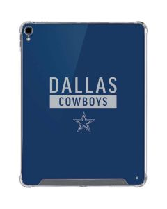 Dallas Cowboys Blue Performance Series iPad Pro 12.9in (2018-19) Clear Case