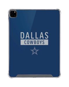 Dallas Cowboys Blue Performance Series iPad Pro 12.9in (2020) Clear Case