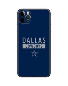Dallas Cowboys Blue Performance Series iPhone 11 Pro Max Skin